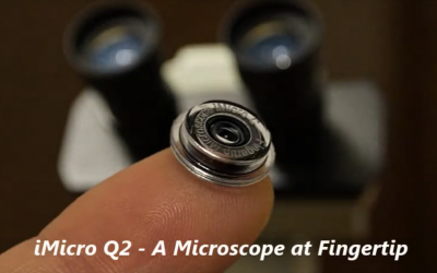 iMicro Q2: An 800x Fingertip Microscope for Any Smartphone