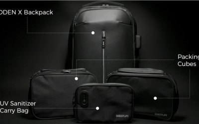 ODEN X Backpack – Best Organization Meets Sanitizing Material