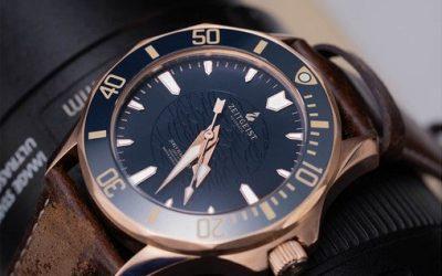 Zeitgeist H1: Thinnest 500m Automatic Bronze Watch