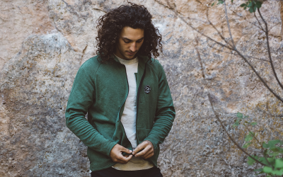 The Baseline Midlayer – Made With Recycled Coffee Grounds