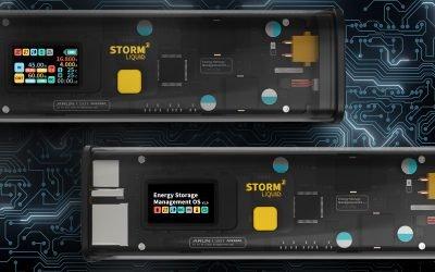 STORM 2 –2077 Sci-Fi EDC Power Bank For Digital Nomads