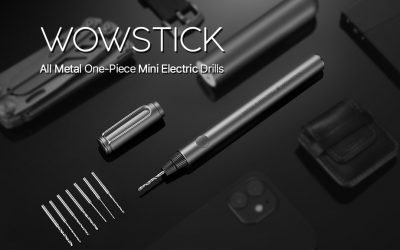 WOWSTICK: The Metal One-Piece Mini Electric Hand Drill