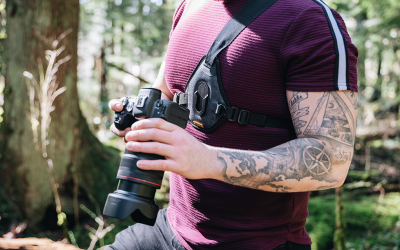 Skout G2: Sling Harness for Camera, Bino's or Drone Remote