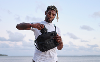 The ROAM Sling:Versatile Bags with Innovative Laptop Carry