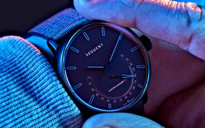Titanium Elektron – The Smart Self-Charging Watch