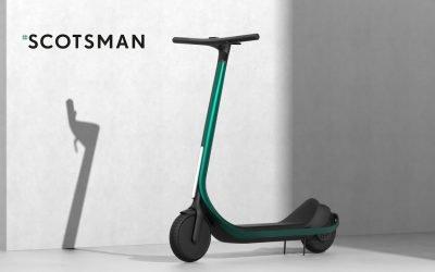Scotsman: All-Carbon Fiber Scooter