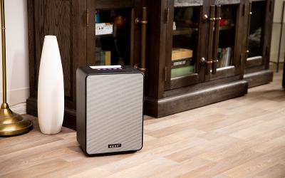 Kube4: Portable Multi-Room Speakers for Everywhere