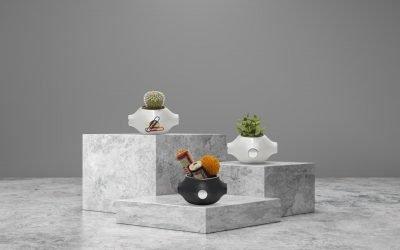 Magnapot: A Dynamic Garden – Turn your desk to a miniature garden